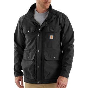 Carhartt Rain Defender Black Utility Jacket Large